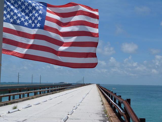 La carretera de los Cayos de Florida