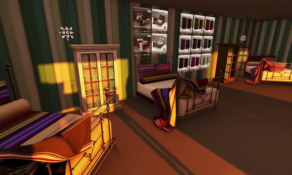 Trompe loeil mendoza bed aguayo black frame pg che flickr - Trompe loeil hoofd bed ...