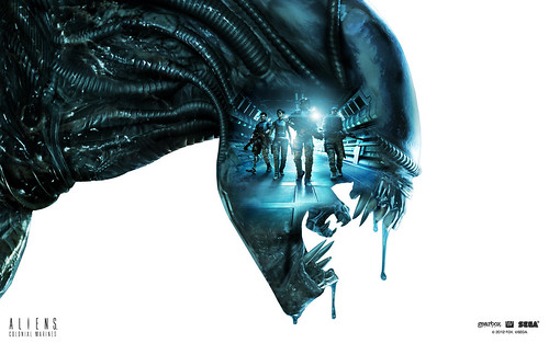 Aliens: Colonial Marines - Wallpaper 1920x1200 | by SEGA of America