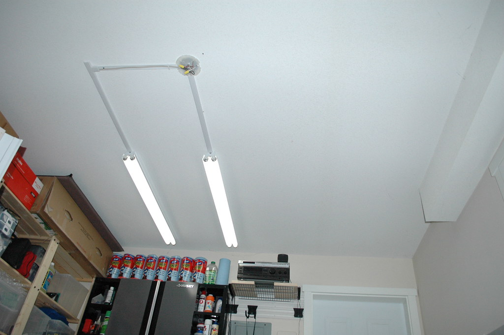 Garage Lighting Fluorescent Lights Installation Step 5 | Flickr