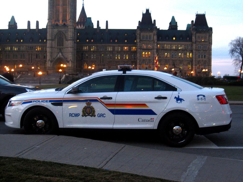 Rcmp Ford Police Interceptor On Parliament Hill  Ottawa