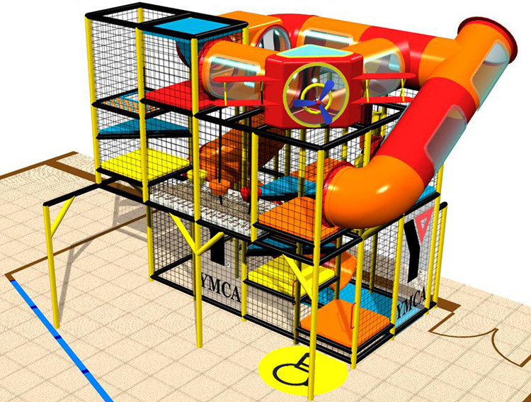 Indoor playground render for ymca indoor playground for Indoor playground design ideas