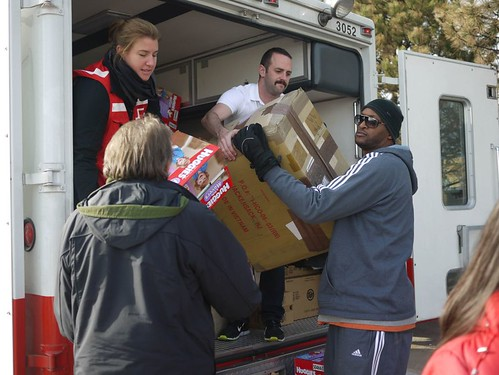 NY Knicks Help Red Cross | by American Red Cross