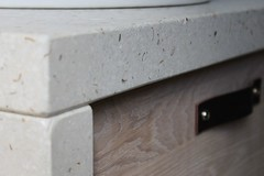 Betonnen Blad Badkamer : Badkamer meubel met eiken houten deuren en betonnen blad flickr