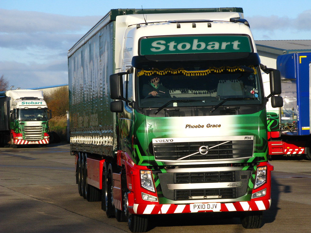 All Pro Trailers >> Eddie Stobart , Volvo FH460 (Phoebe Grace) Mark Dixon,s tr… | Flickr