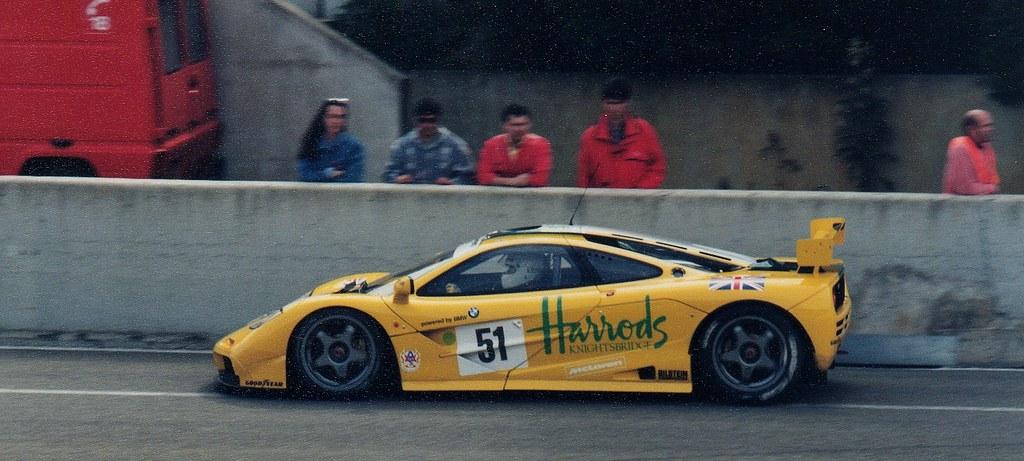 A Mclaren F1 >> Le Mans 1995 - Harrods McLaren F1 GTR | Harrods Mach One Rac… | Flickr