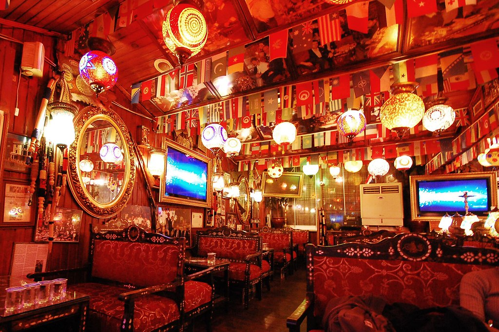 The Interiors Of A Turkish Hookah Lounge At Ali Baba Nar Interiors Inside Ideas Interiors design about Everything [magnanprojects.com]