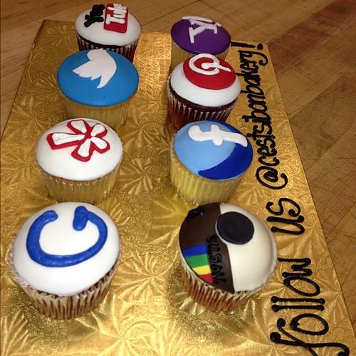 Cake Art Instagram : #SOCIALMEDIA #cupcakes!!! #google #yelp #twitter #youtube ...