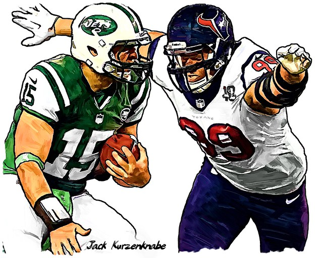 Houston Texans J.J. Watt - New York Jets Tim Tebow