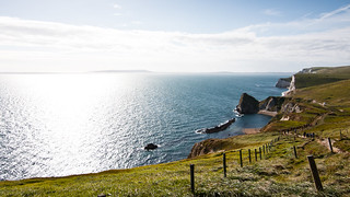 Path between Lulworth Cove and Durdle Door @ Dorset, UK | by timparkinson