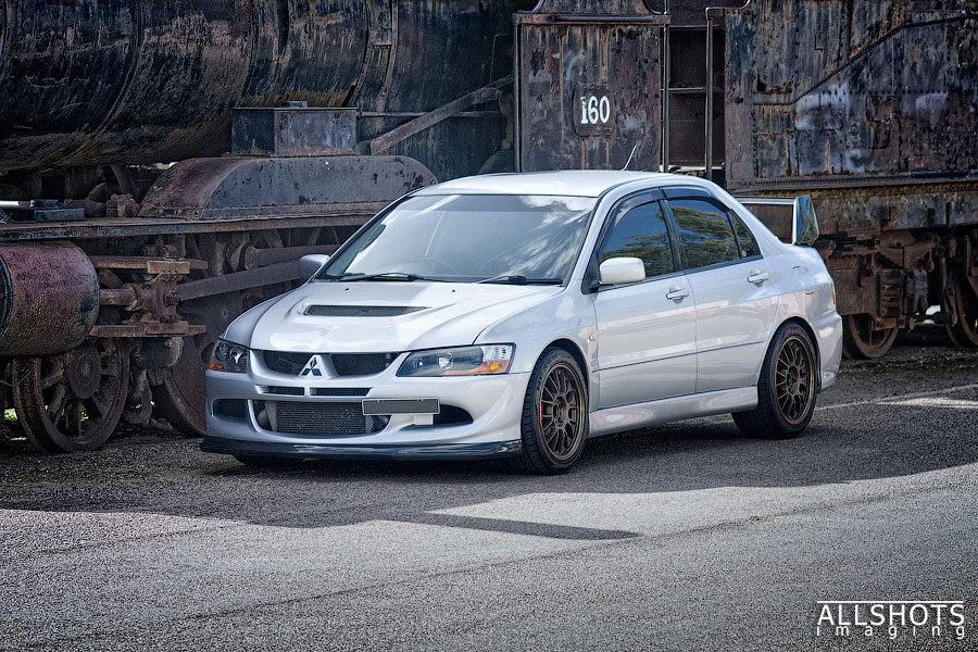 Silver Evo 8 Mr Top Lhs 3 4 View Image Digitally Blended