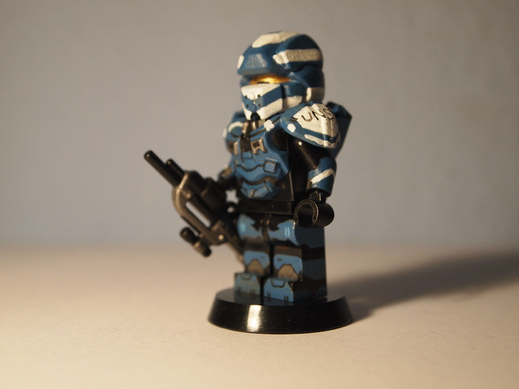 Lego halo 4 spartan warrior hey everyone this is my new - Lego spartan halo ...