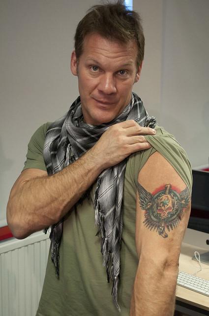 Allan Mckee >> Chris Jericho, tattoo shot 2   Flickr - Photo Sharing!