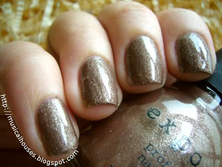 exposed nail polish cappucine | by musicalhouses