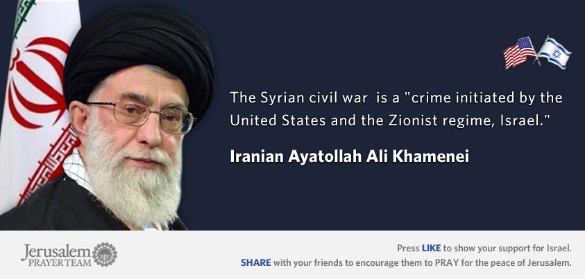 Iranian Ayatollah Ali Khamenei