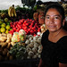 Produce market in Guatemala City