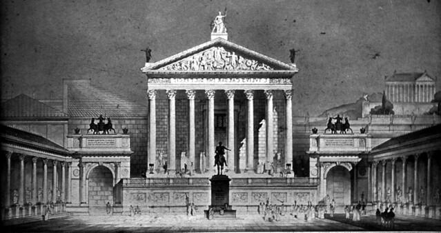 Temple Of Julius Caesar Flickr Photo Sharing