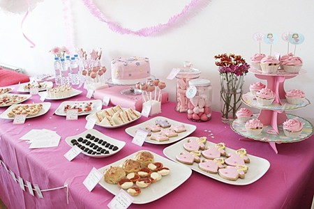 Mesa de dulces de las princesas - Imagui