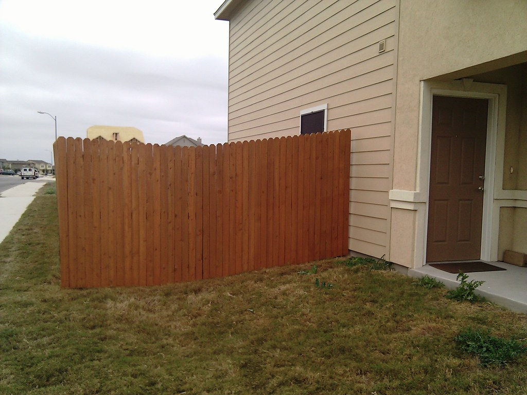 Fence Staining Sherwin Williams Deckscapes Semi