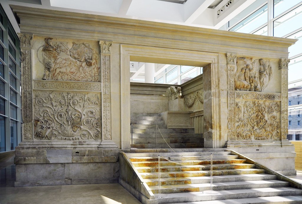 Ara Pacis Augustae: Altar of Augustan Peace | Dedicated ...