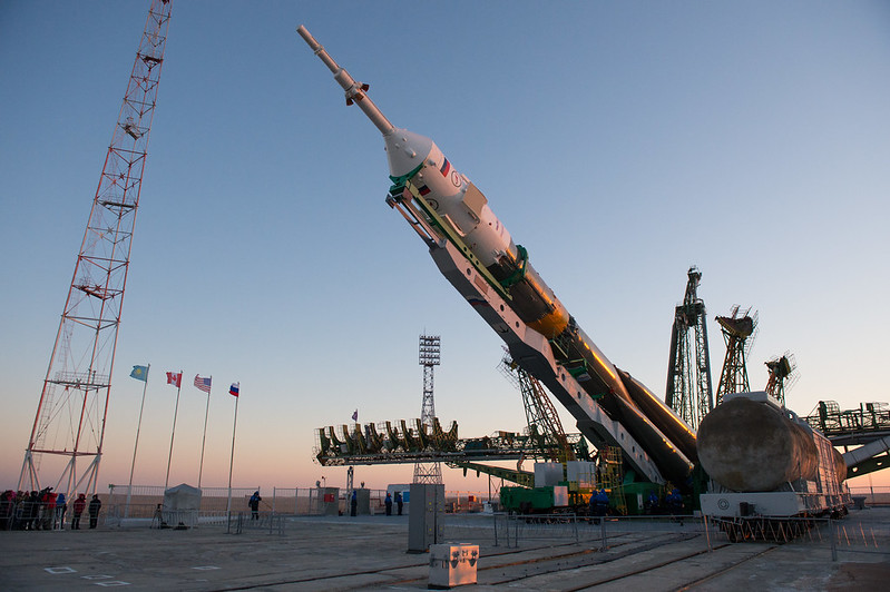 Expedition 34 Soyuz Rollout (201212170012HQ)