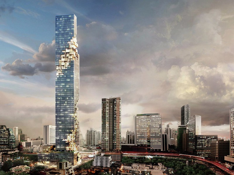 Башня MahaNakhon Tower в Бангкоке