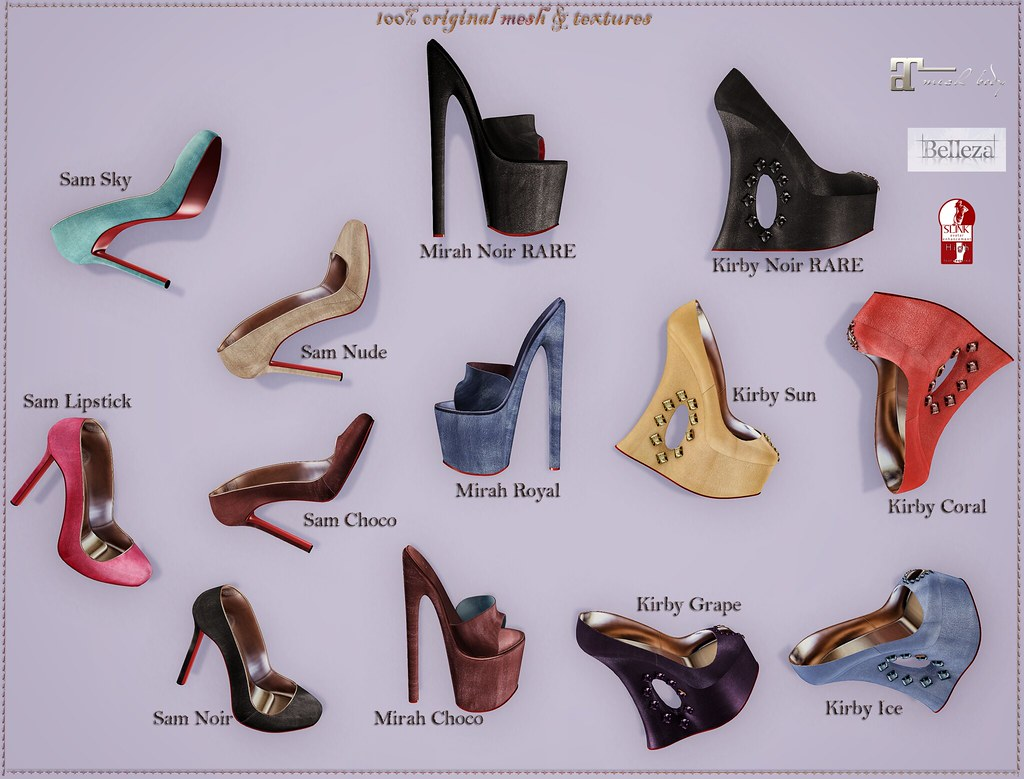Shoe gacha by ChicChica OUT @ The Chapter Four