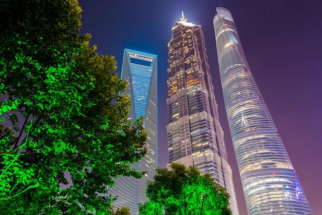 Shanghai 3 Towers