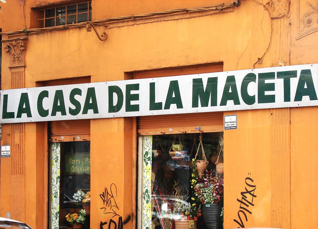 La casa de la maceta montevideo uruguay constituyente 175 jimena del rio ocampo flickr - La casa de la maceta ...