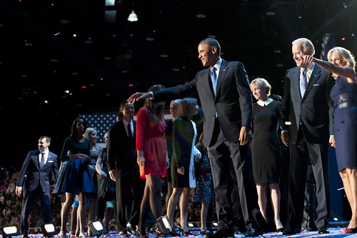 Barack Obama and Joe Biden on Election Day - November 6th | by Barack Obama