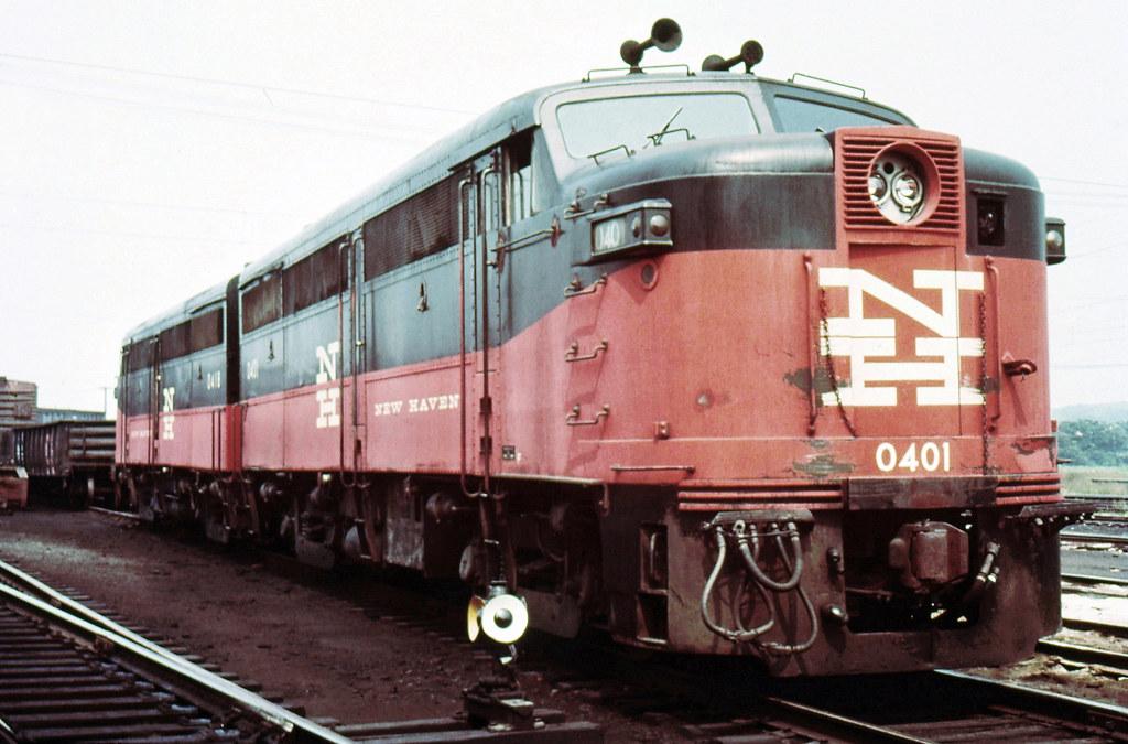 New Haven Railroad Der 2a Alco Fa 1 Locomotive 0401 Alon