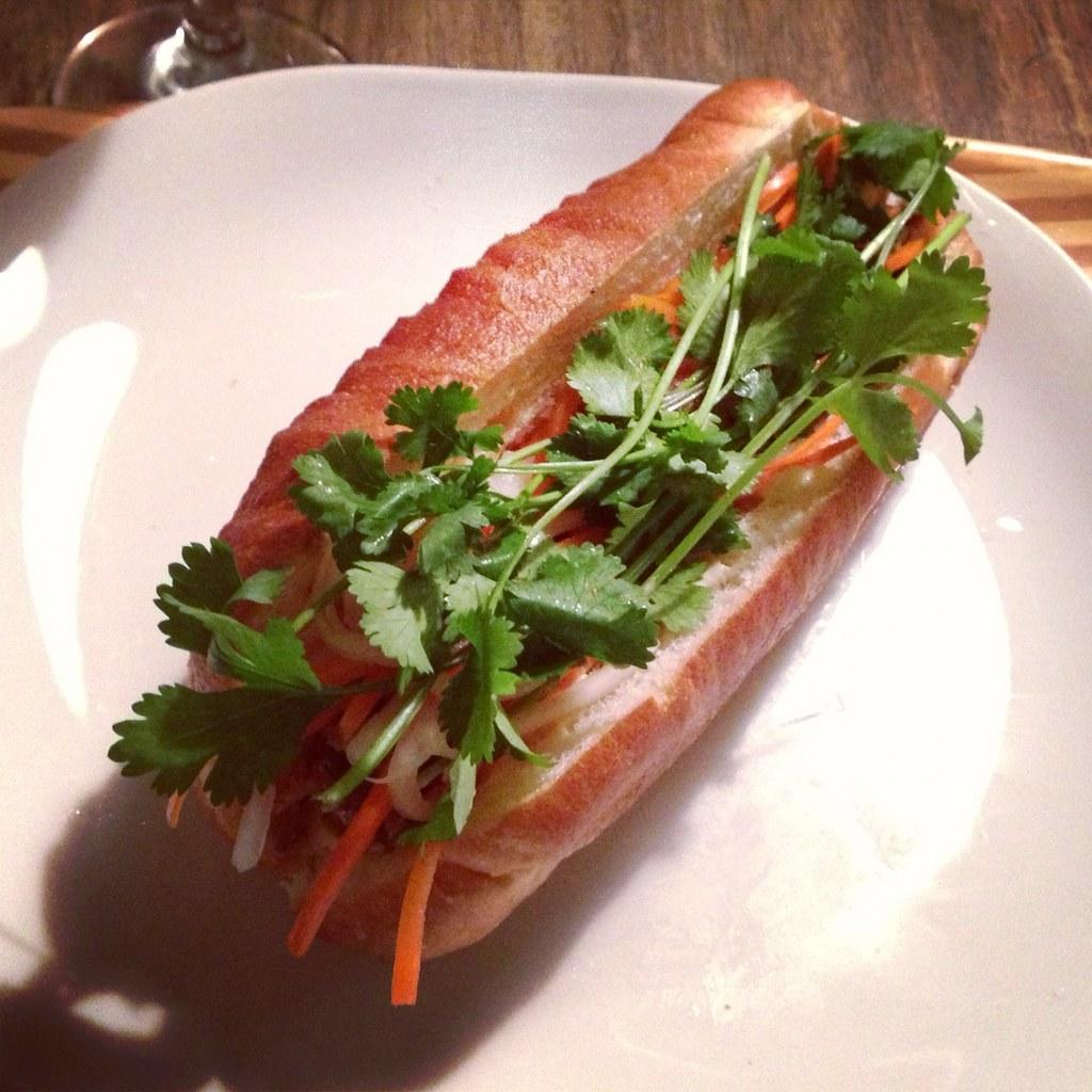 Sardine banh mi | Pollastrini sardines, sriracha mayo, fried ...