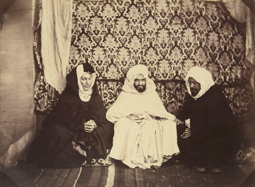 Brothers And General Officers Of The Abd El Qader Emir At Annaba In 1856
