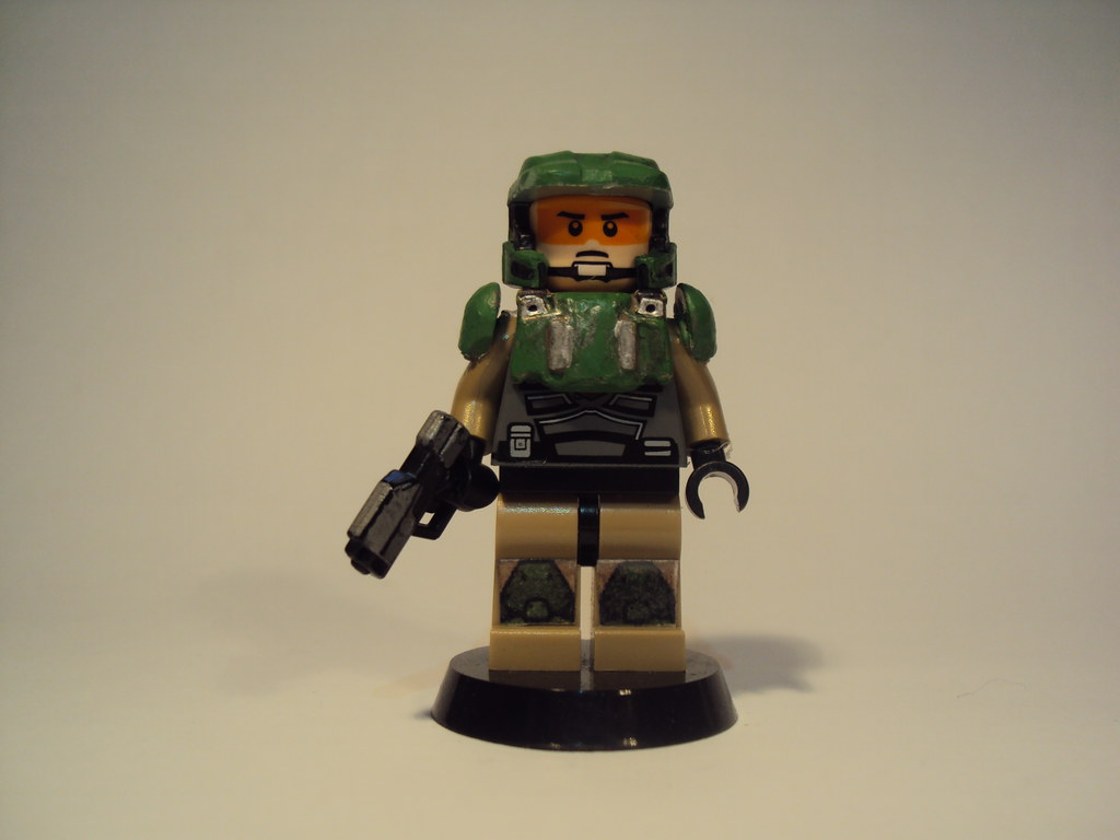 Lego Halo Marine | Updated version  Not sure about the space