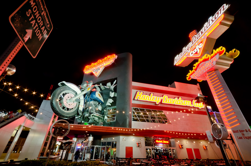 harley davidson cafe las vegas strip | located on the famous… | flickr