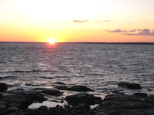 Sunset Rhode Island September