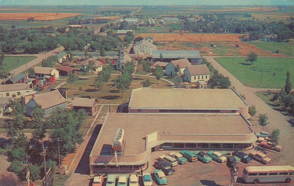 Pioneer Village Minden Nebraska Aerial View Of The
