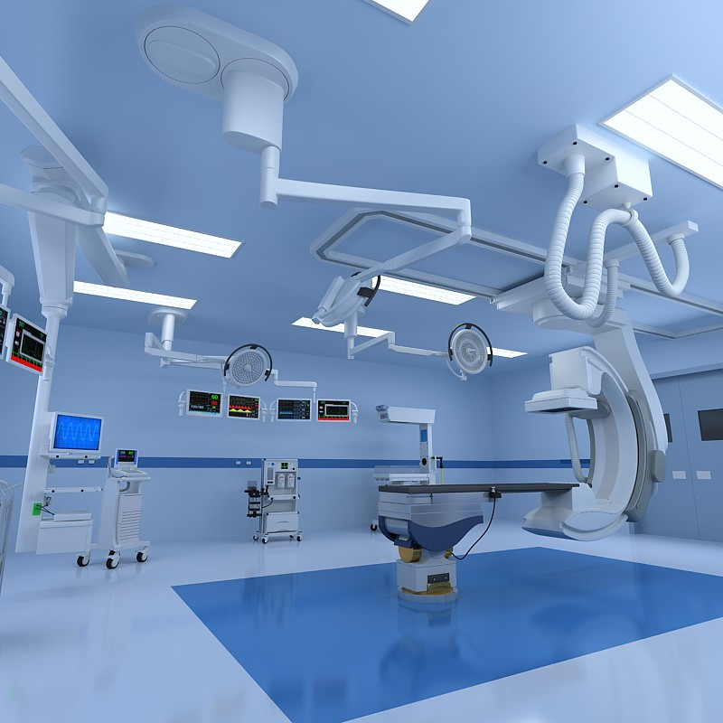 Operating Rooms 3d Operating Room Scene 3d Horse Flickr