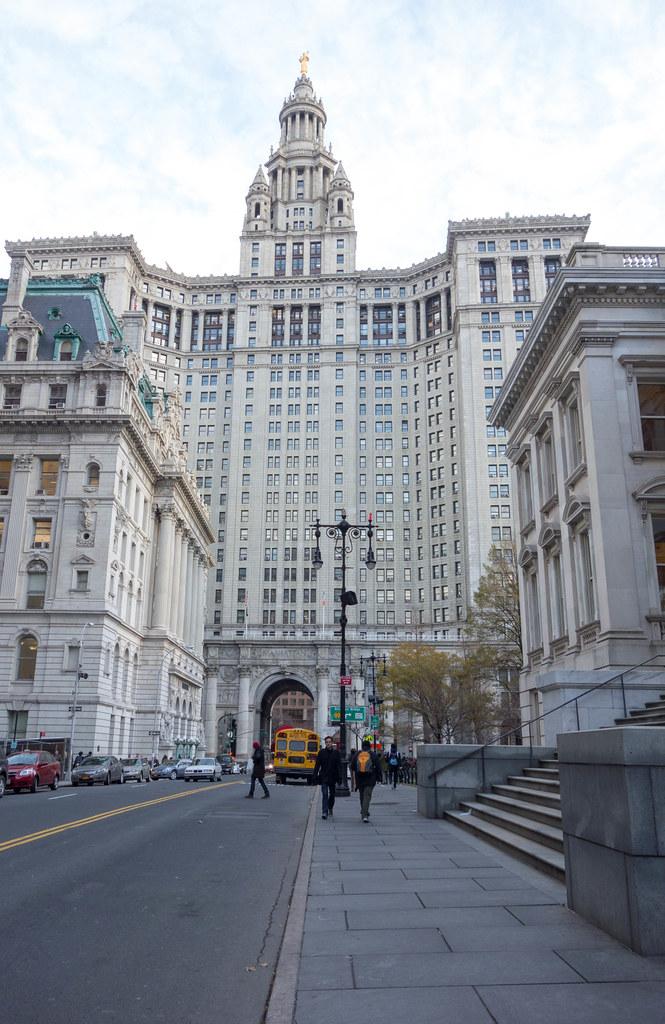 Manhattan Municipal Building: Manhattan Municipal Building At 1 Centre Street