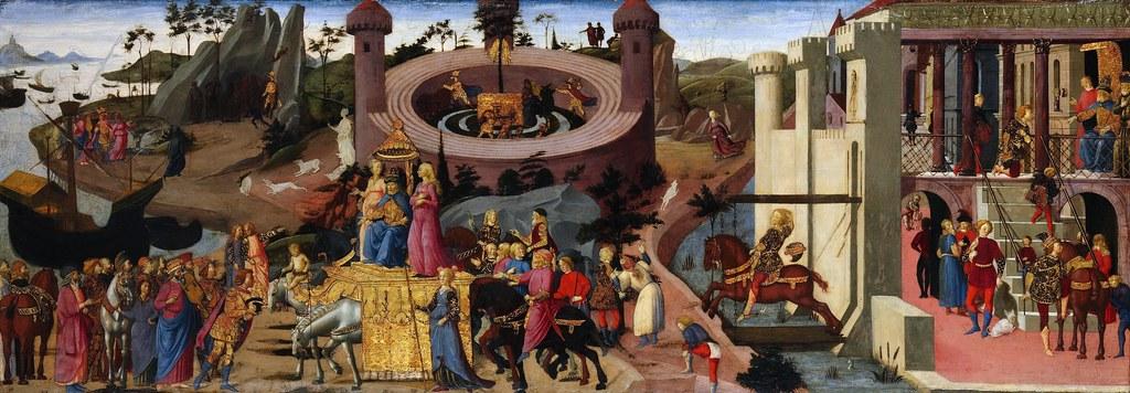 Biagio D Antonio Scenes From The Story Of The Argonauts