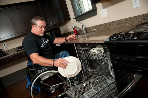 a personal recount on living with a handicapped person Inclusion of people with disabilities into  generally through disability-focused and independent living  handicapped parking or bathroom: person of .