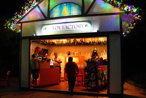 Christmas Town At Busch Gardens Tampa Inside The Magic Flickr