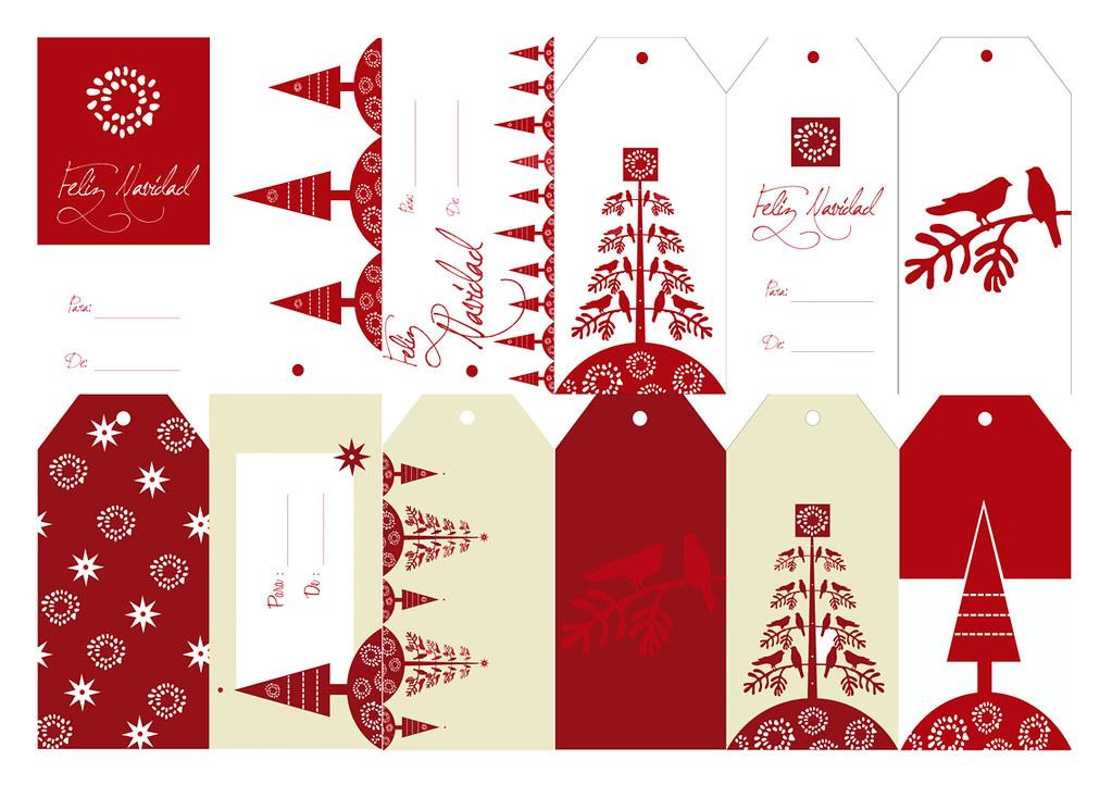 Etiquetas navide as christmas tags puedes descargar mi - Etiquetas para regalos para imprimir ...