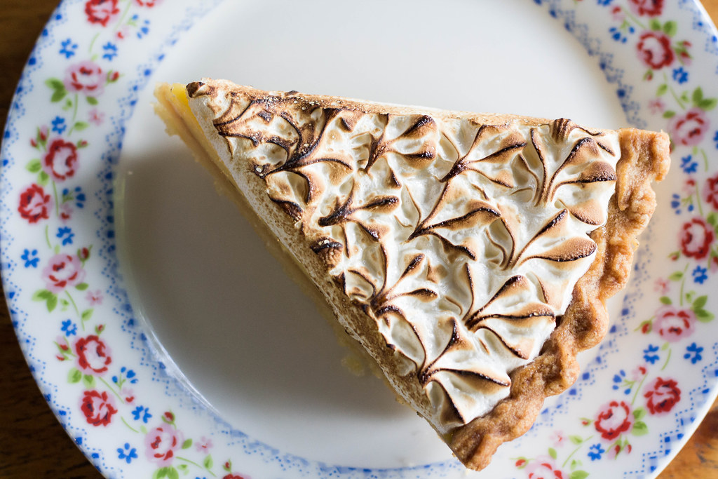 Serangoon Gardens Cafes: Little Wimbly Lu Lemon Meringue