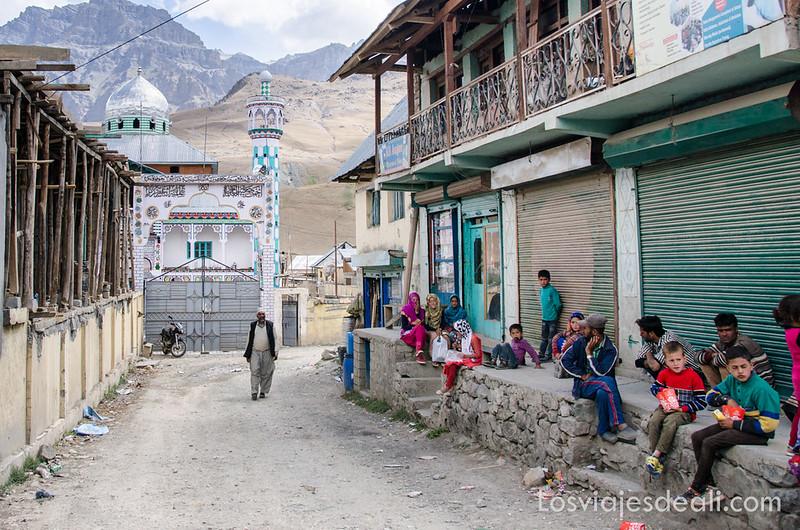 pueblos de Cachemira mezquita de Drass
