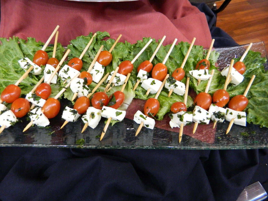 Appetizers Skewers Are A Great Way To Display And Serve Fa Flickr