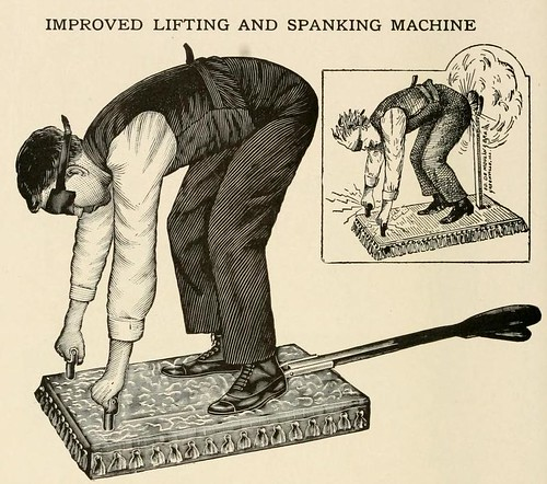 Improved Lifting and Spanking Machine | by Ephemeral Scraps