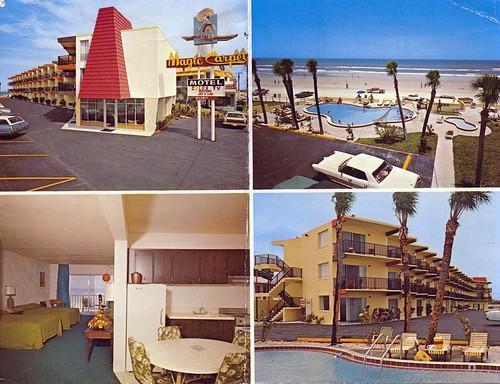Magic Carpet Motel Daytona Beach Fl 2601 So Atlantic