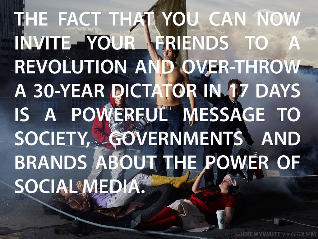 The Power Of One Quotes: One Of My Favourite Quotes About The Power Of Social Media