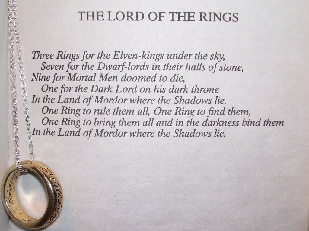 Lord Of The Ring One Ring Quote